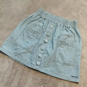 Billabong women's size S jean skirt